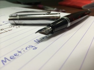 Sheaffer 300 in Action