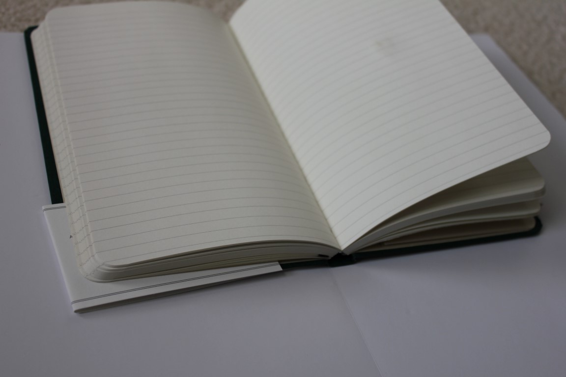 shinola notebook journal review my pen needs inkmy pen needs ink spine open book paper