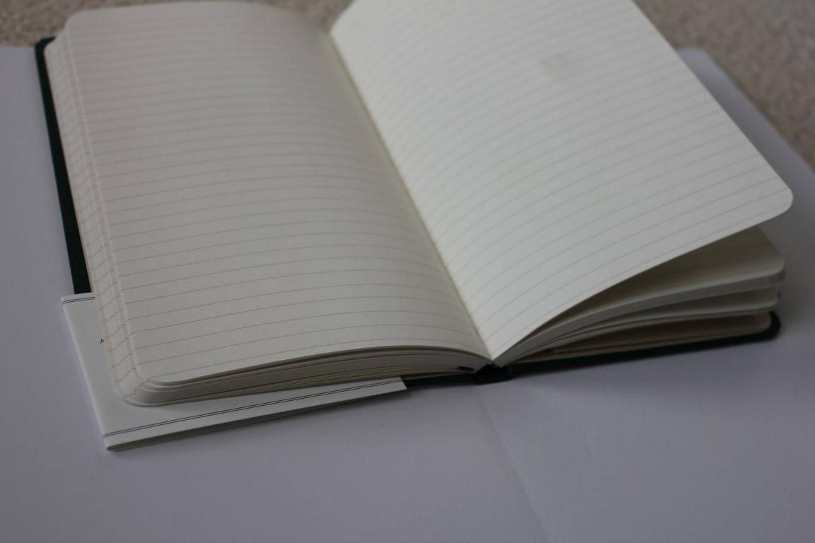 shinola notebook journal review my pen needs inkmy pen needs ink spine open book paper