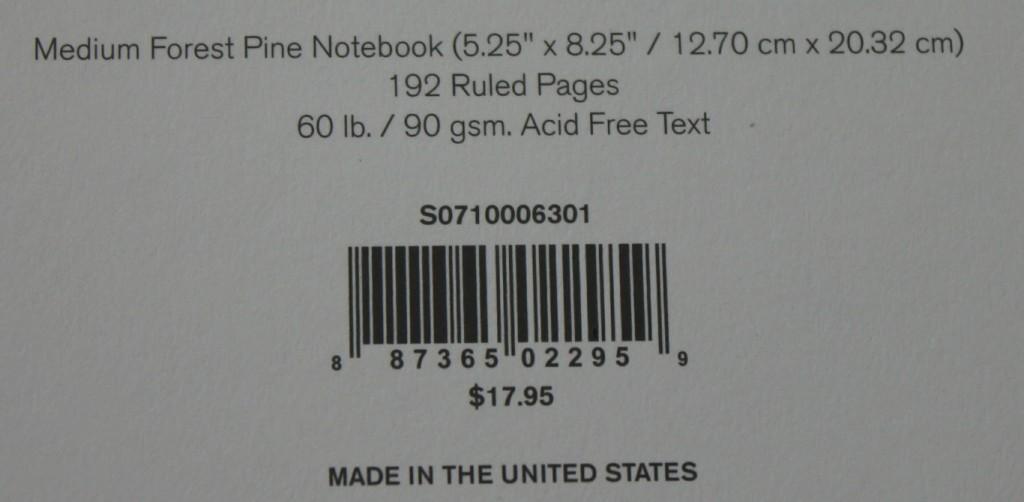 Specs Label