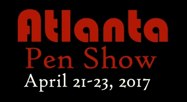 Atlanta Pen Show Apr 21-23, 2017