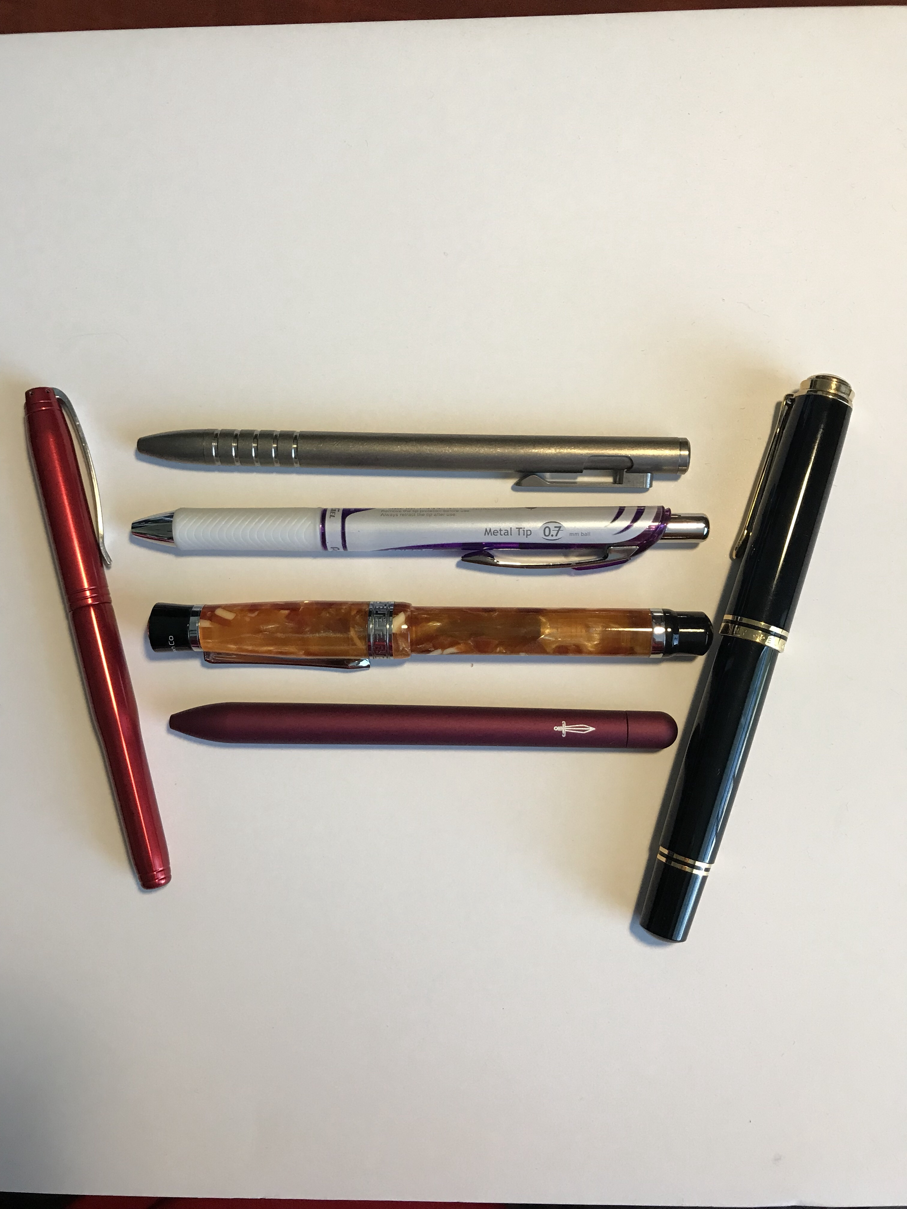 How to choose the pen